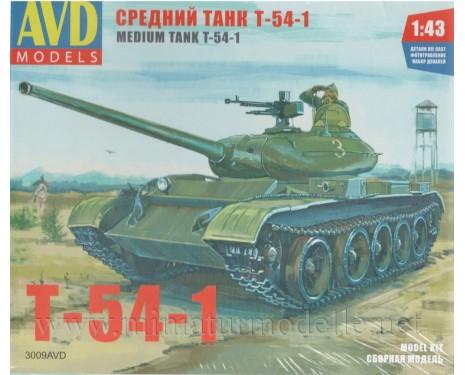 1:43 T 54 1 Panzer, Militär, Bausatze