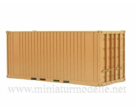1:43 Container 20 ft., brown