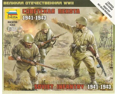 1:72 Sowjetische Infanterie 1941-43