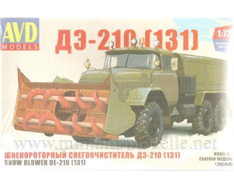 1:72 ZIL 131 Schneefräse DE 210 militär, kit