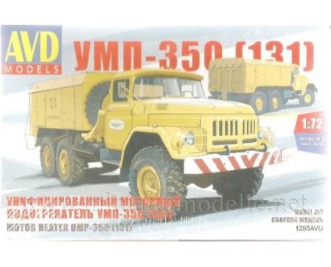 1:72 ZIL 131 Motorvorwärmer UMP 350, kit