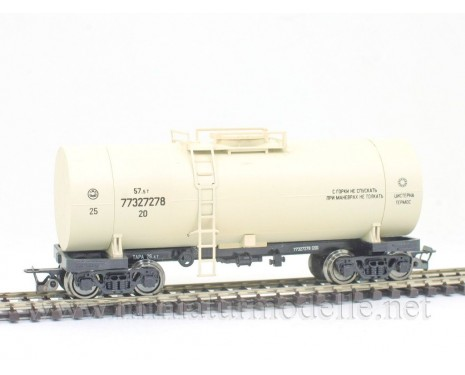 1:120 TT 3732 Tank - thermos wagon of the RZD beige livery, era 5