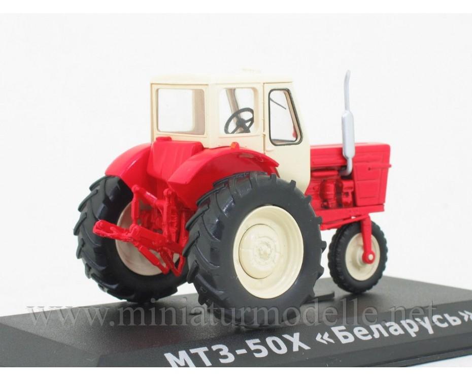 1:43 MTS 50 H Belarus Traktor mit Zeitschrift #67
