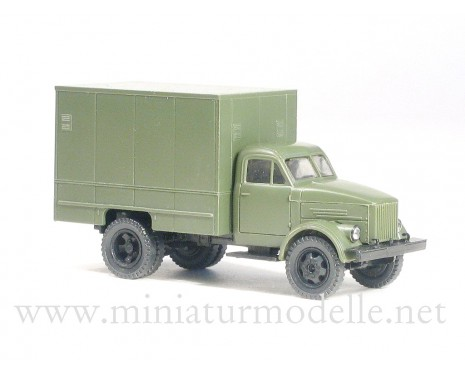 1:87 H0 GAZ 51 closed side U-127 military