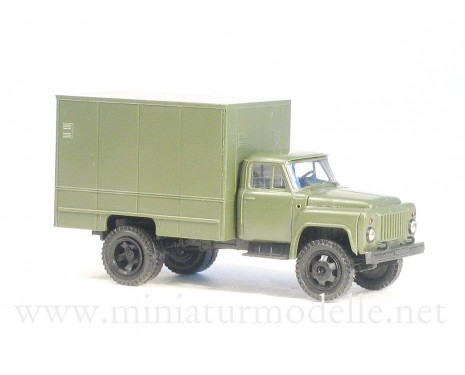 1:87 H0 GAZ 52 closed side U-127 military