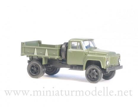 1:87 H0 GAZ SAZ 3504 Kipper Militär