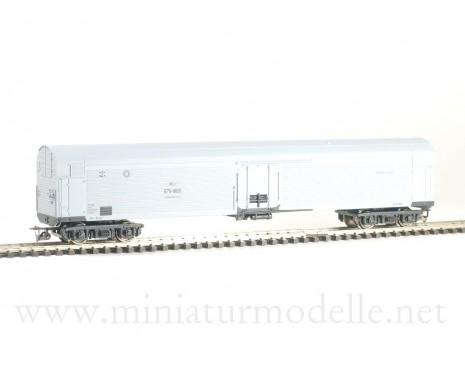 1:120 TT 3921 Maschinenkuhlwagen ZB-5 der SZD, grau, 4. Epoche