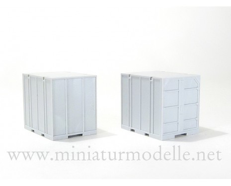 1:87 H0 5T. Containers UUK-5, civil, pair