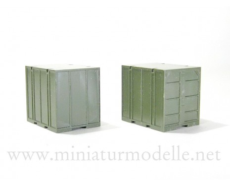 1:87 H0 5T. Containers UUK-5 pair, military
