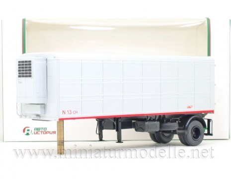 1:43 Refrigerated box trailer ALKA N13CH