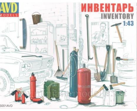 1:43 Garage inventory