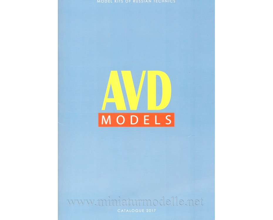 1:43 - 1:72 AVD Models Katalog 2017