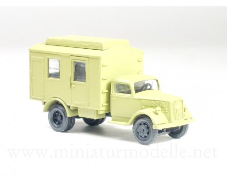 H0 1:87 Opel Blitz transmitting station, military beige