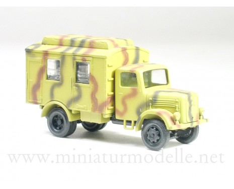 H0 1:87 Klöckner Deutz-Magirus transmitting station, camouflage military