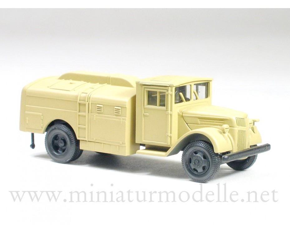 H0 1:87 Ford Holzkabine 3t Treibstofftankwagen, Militär beige