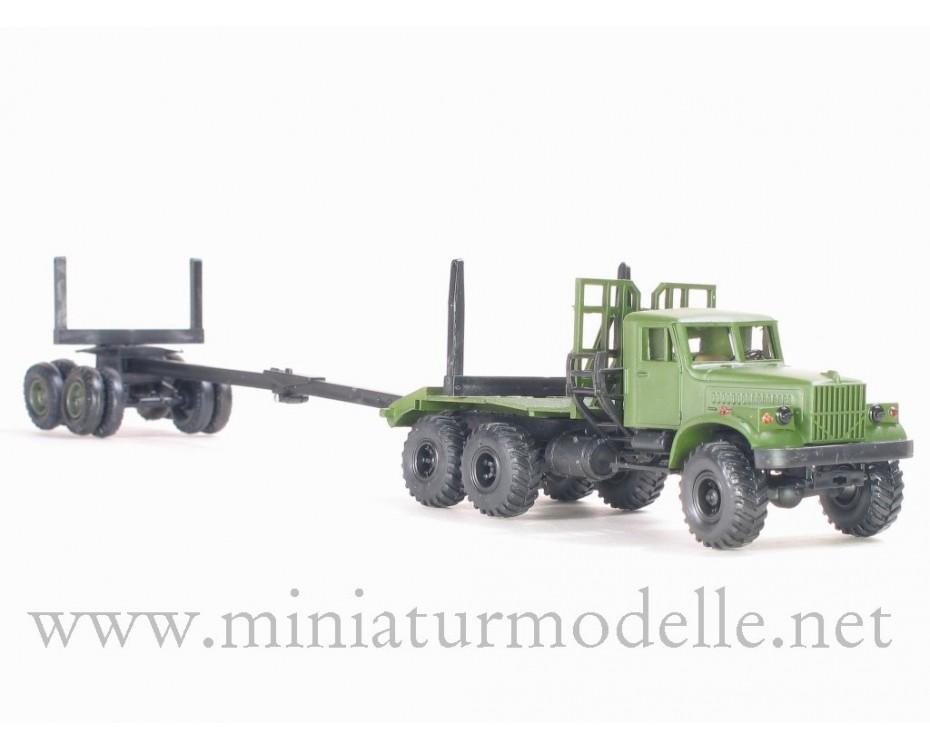 H0 1:87 KrAZ 255 L mit Langrohranhanger, militär