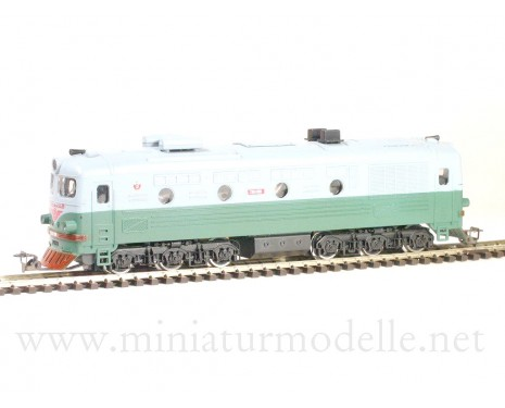 1:120 TT 1211 Diesel lokomotive class TE 10 of the SZD, green/ grey livery, Ep. 3