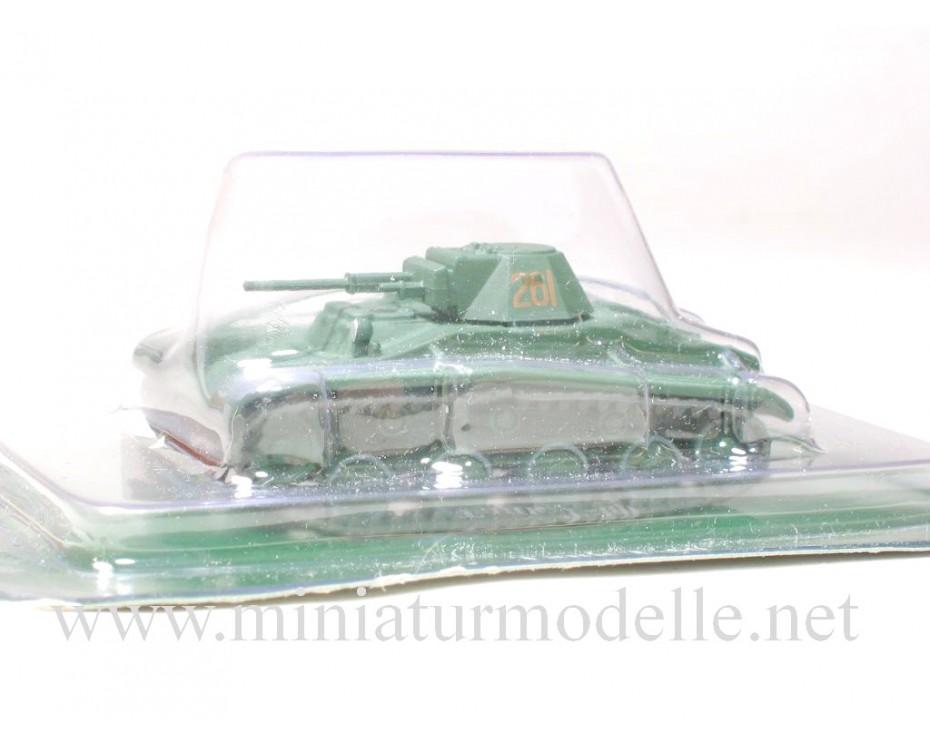 1:72 LKPz Leichter Kampfpanzer T-60, Militär mit Zeitschrift #58
