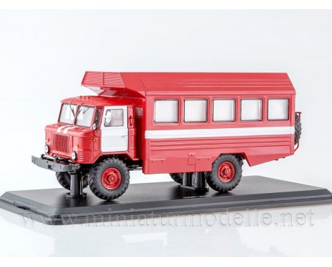 1:43 GAZ 66 box KSP fire