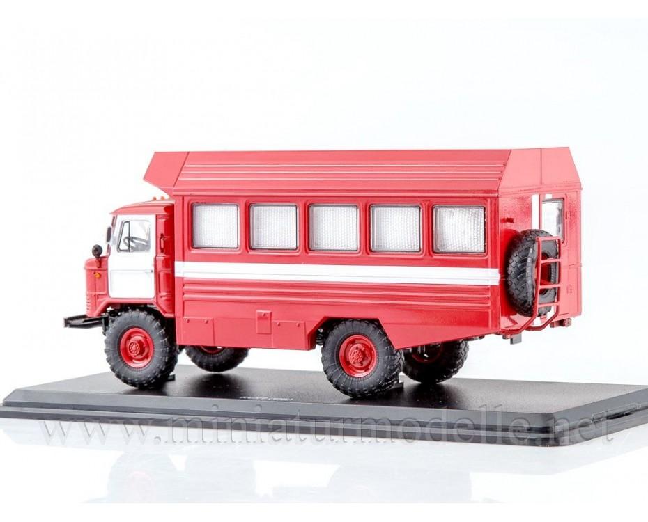 1:43 GAZ 66 box KSP fire