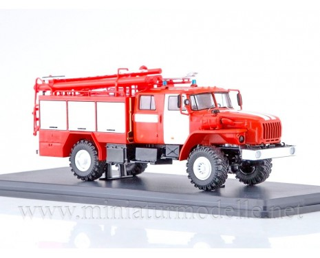 1:43 URAL 43206 Tanklöschfahrzeuge PSA 2, FW Feuerwehr