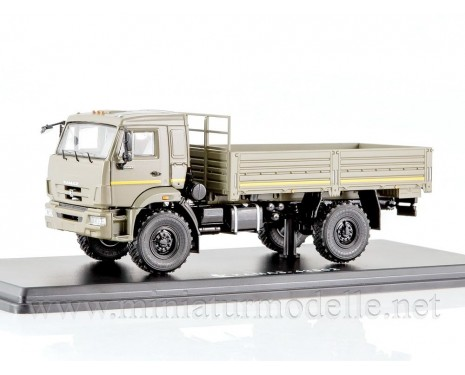 1:43 KAMAZ 43502 load platform, military