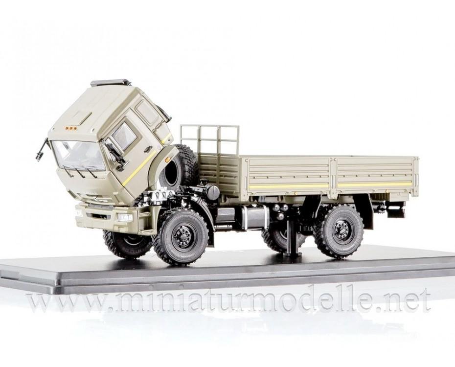 1:43 KAMAZ 43502 load platform, military, SSM1243, Start Scale Models - SSM by www.miniaturmodelle.net