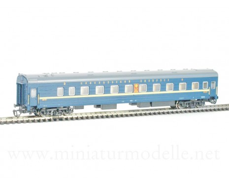 1:120 TT 2038 Long-distance sleeping car type Ammendorf of the Nikolajevskij Ekspress de luxe 1 class livery RZD, era 5