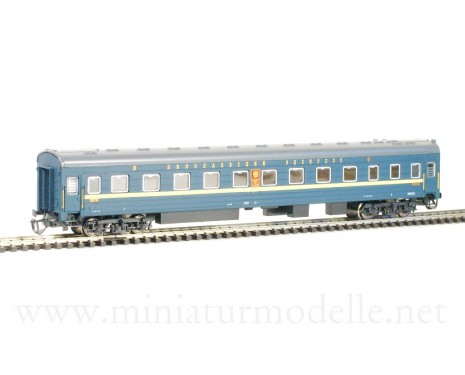 1:120 TT 2039 Long-distance sleeping car type Ammendorf of the Nikolajevskij Ekspress de luxe 2 class livery RZD, era 5