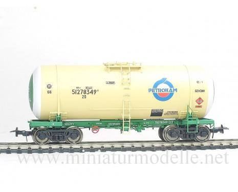 1:87 H0 Kesselwagen mod. 15-1547 PETROKAM zum Transport von Benzin der RZD, 5. Epoche, Kleinserie