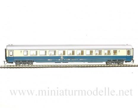 1:120 TT 7650 2. Kl. Grossraumwagen Typ Bpmz 291, DB