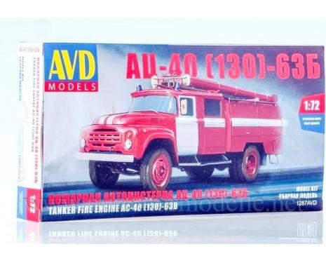 1:72 ZIL 130 Tankloeschfahrzeuge AC-40 63B FW Feuerwehr kit