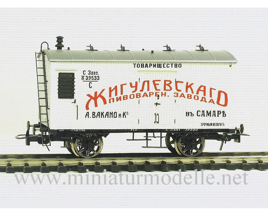 1:87 H0 Bierwagen der Жигулевскаго пивоварен. завода, 1 Epoche, Kleinserie