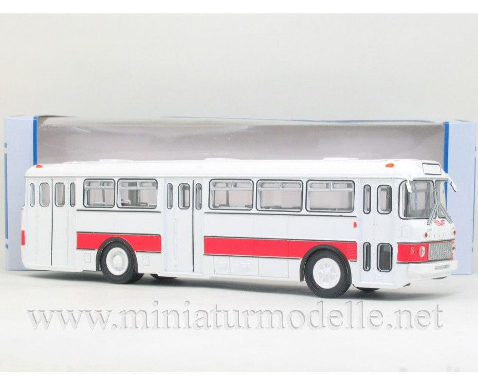 1:43 IKARUS 556 weiss/ rot