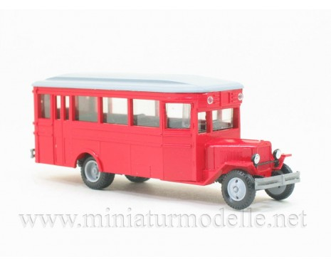 H0 1:87 ZIS 8 Bus