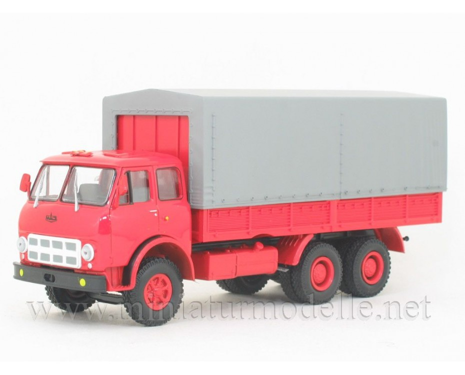 1:43 MAZ 514 truck with canvas top (1974- 1976), civil, H200, Nash Avtoprom by www.miniaturmodelle.net