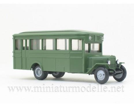 H0 1:87 ZIS 8 Bus, militär