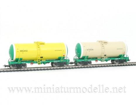 1:87 H0 0011 Kesselwagenset zum Transport von Erdolprodukte der RZD, 5. Epoche