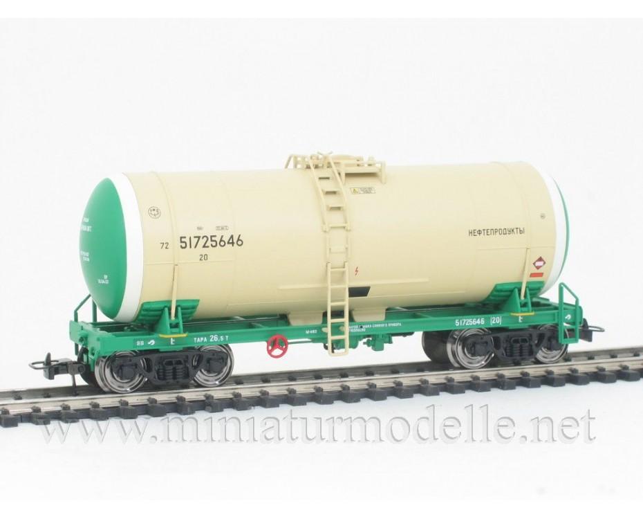 1:87 H0 0011 Tank wagon set for petrol transport, RZD livery, era 5
