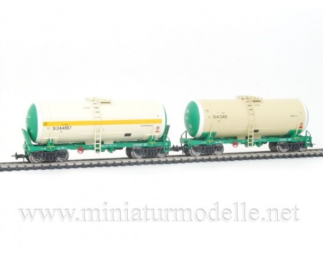 1:87 H0 0012 Tank wagon set for alcohol transport, RZD livery, era 5