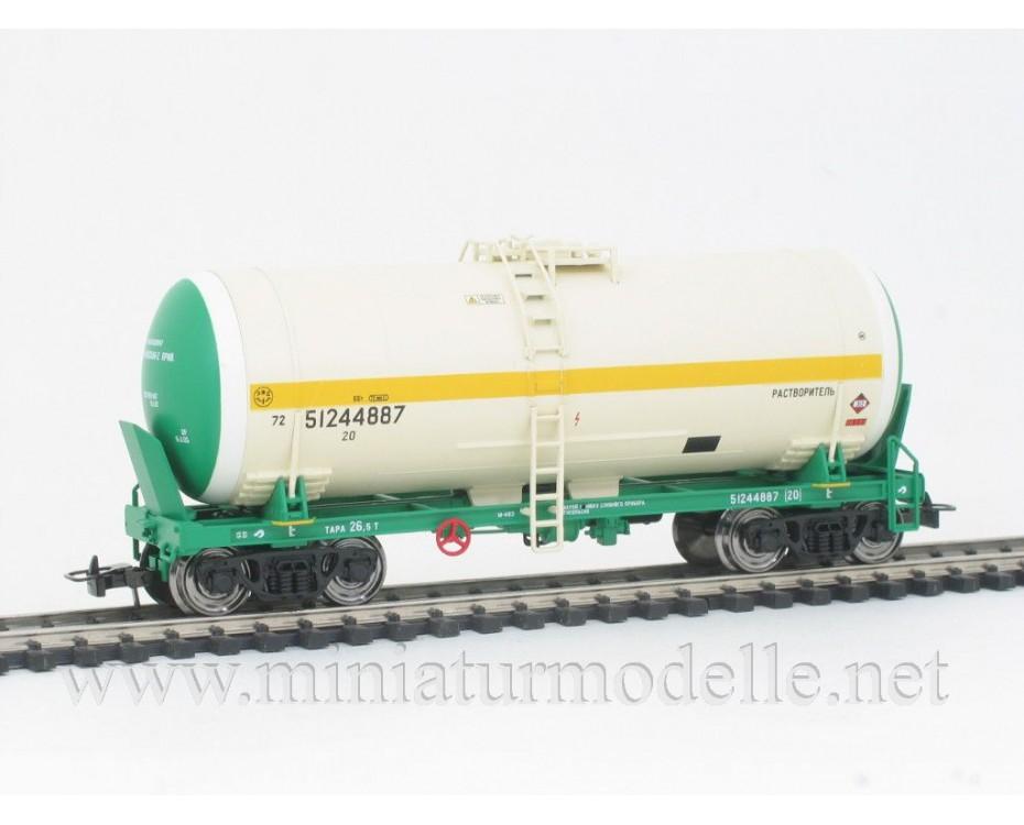 1:87 H0 0012 Tank wagon set for alcohol transport, RZD livery, era 5
