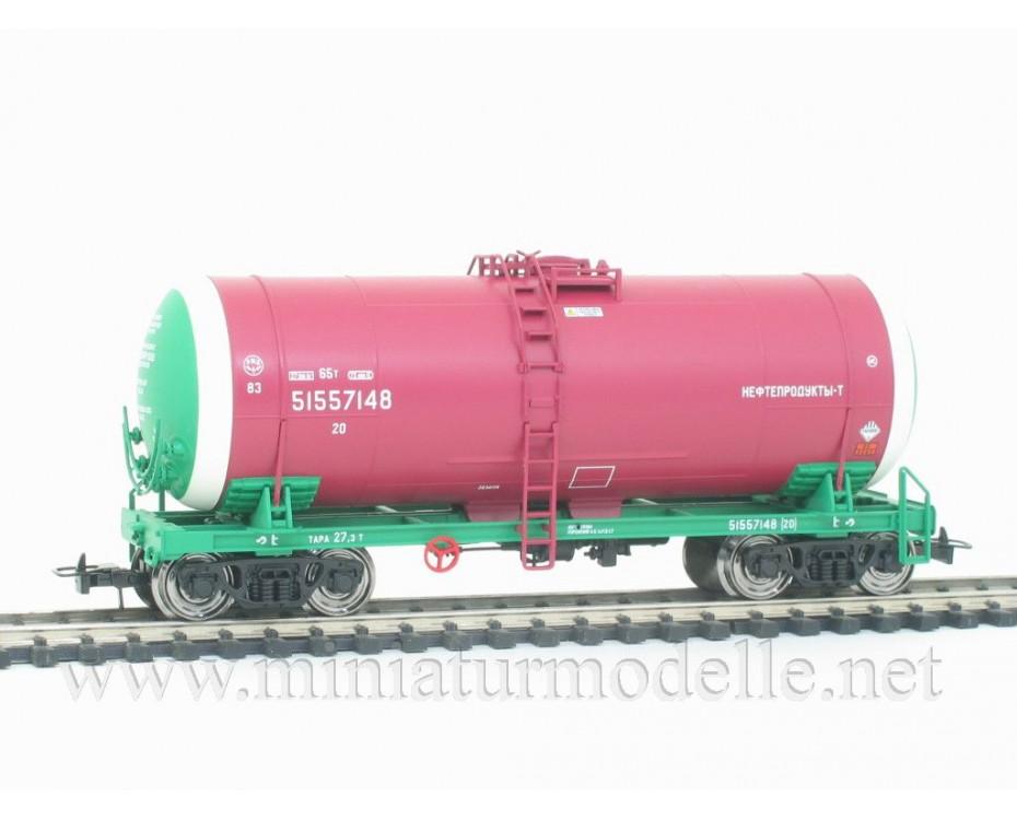 1:87 H0 0014 Tank wagon set for petrol transport, RZD livery, era 5