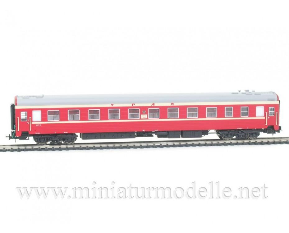 1:87 H0 0212 Weitstrecken- Schlafwagen Typ Ammendorf Wagenset 4 St. URAL, RZD 5 Epoche