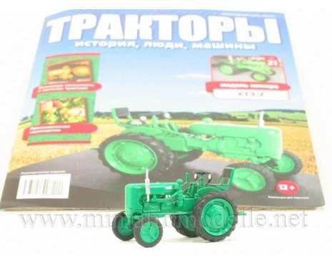 1:43 Traktor ChTS 7 Zeitschrift #21