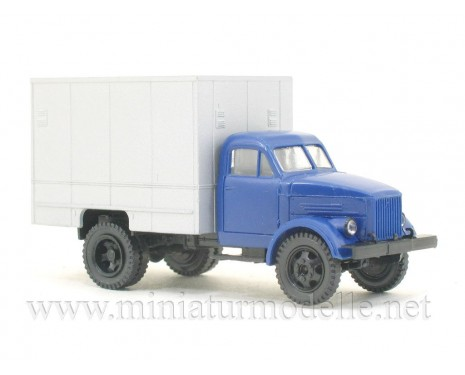 1:87 H0 GAZ 51 isothermal van U-127 civil