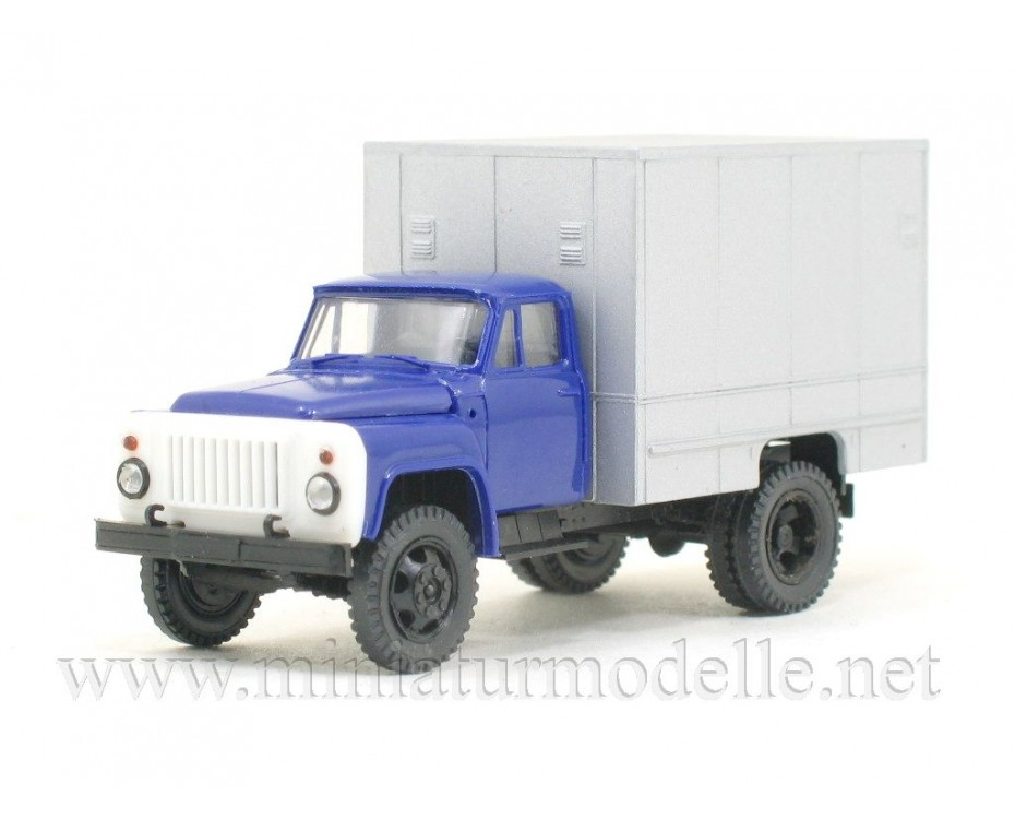 1:87 H0 GAZ 52 isothermal van U-127 civil