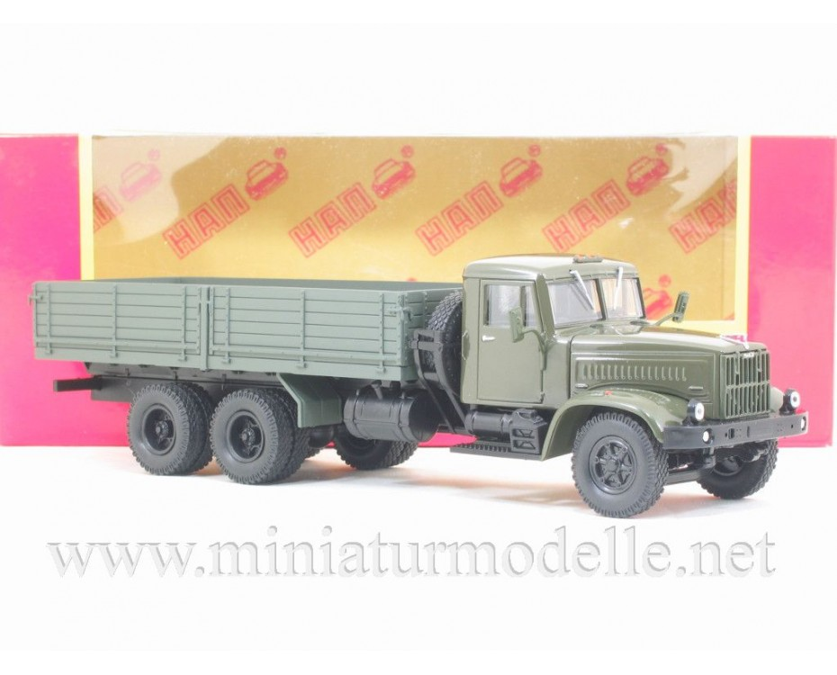 1:43 KRAZ 257 B1 load platform 1987 - 1994, military, H203, Nash Avtoprom by www.miniaturmodelle.net