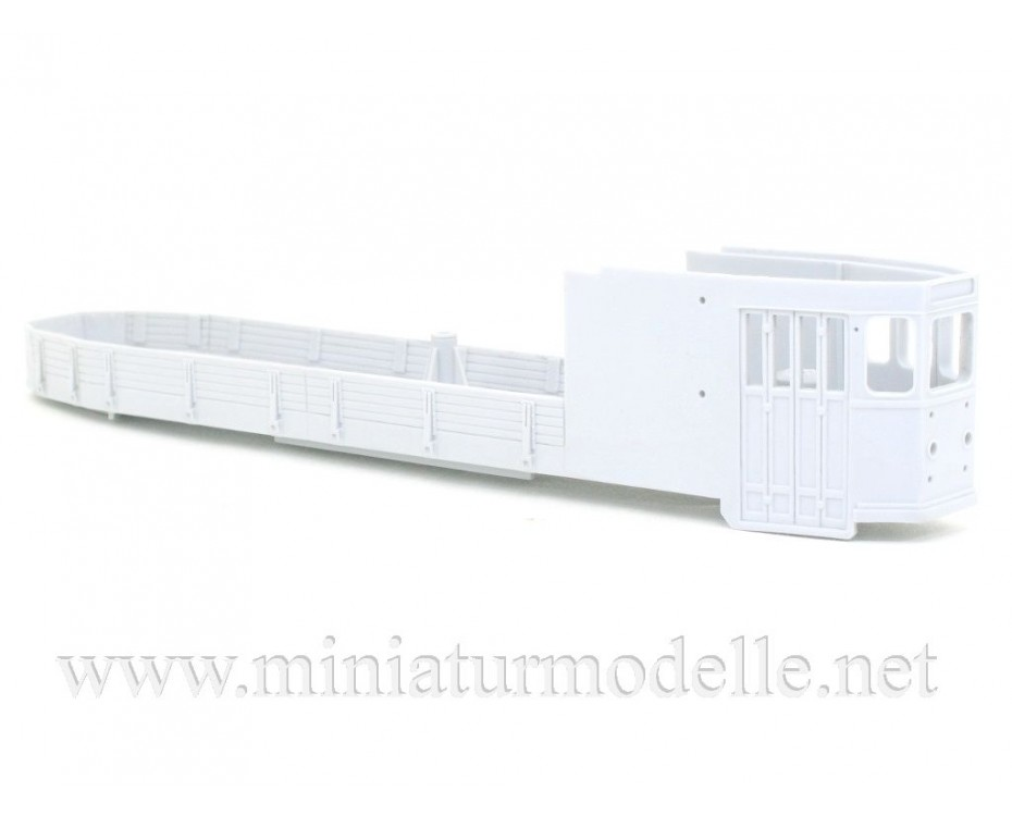 1:87 H0 GM 33 Tram with crane , small batches model kit
