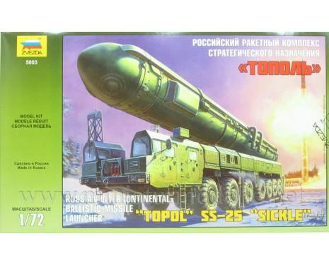1:72 Topol SS-25 Sickle Russischer Interkontinentalrakete Werfer