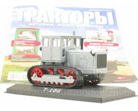 1:43 Raupe Schlepper Traktor T 100 Zeitschrift #32